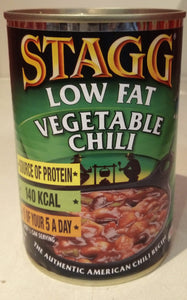 Stagg Low Fat Vegetable Chili 400g