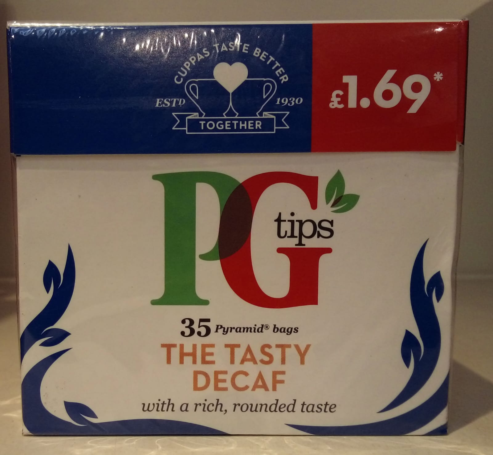 PG Tips Decaf 35 bags