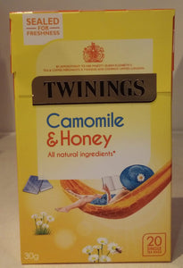 Twinings Camomile & Honey 20 bags