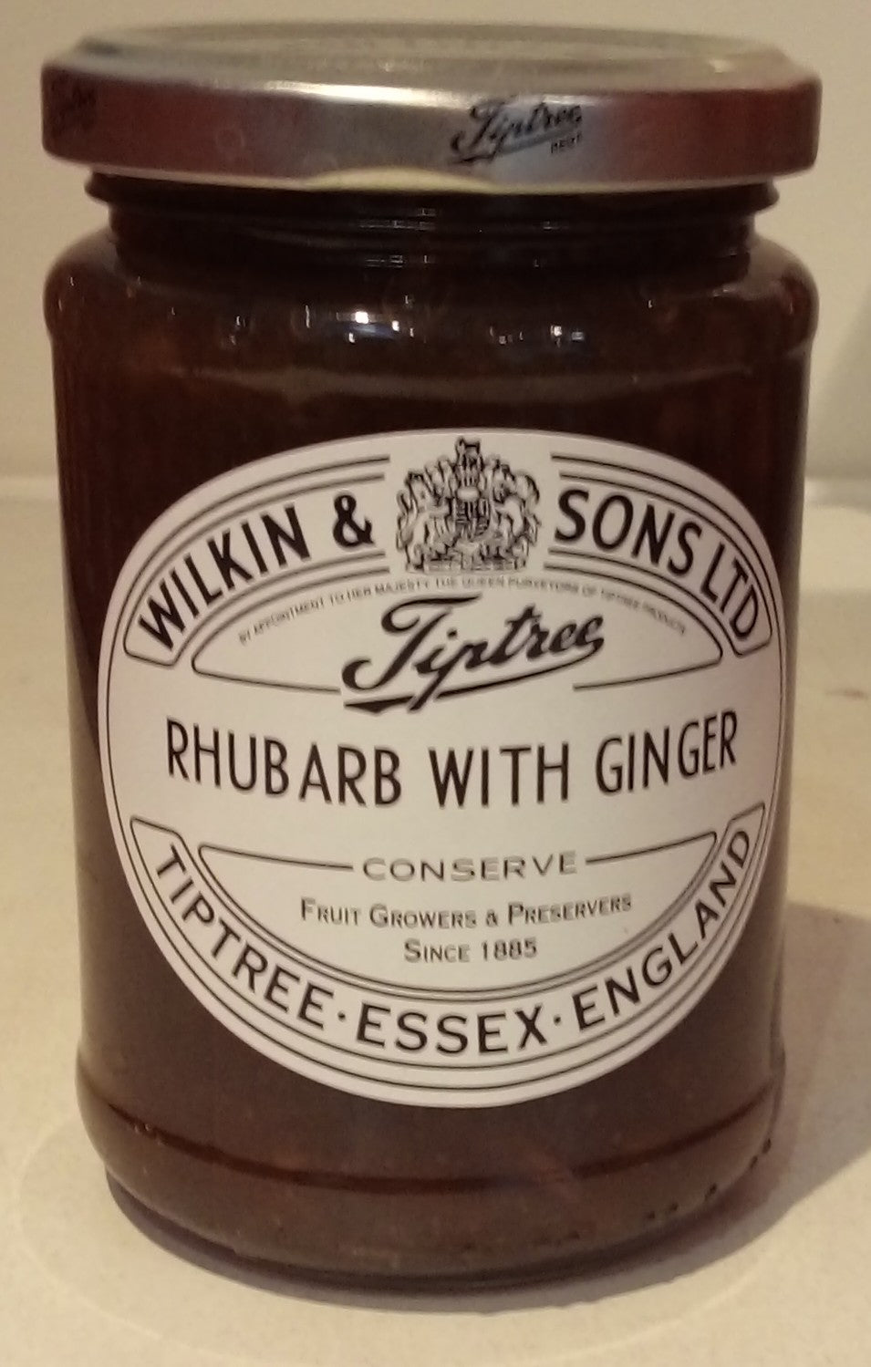 Wilkin & Sons Rhubarb with Ginger 340g