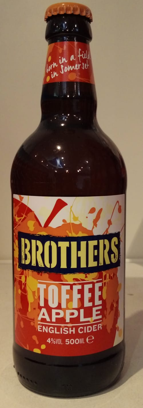 Brothers toffee Apple cider 500ml