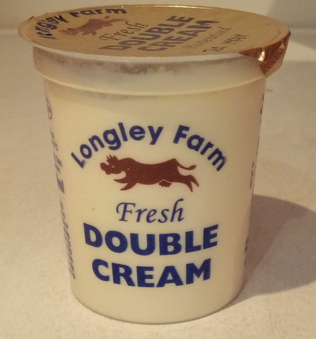 Longley Farm Double Cream 150ml