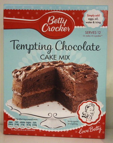 Betty Crocker Tempting Chocolate Cake Mix 425g