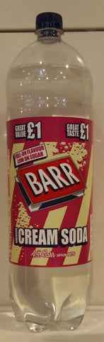 Barr Cream Soda 2 Liters