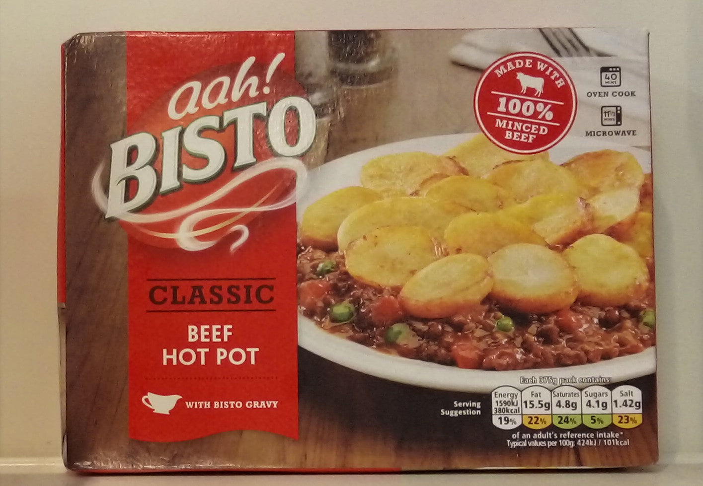 Bisto Classic Beef Hot Pot 375g