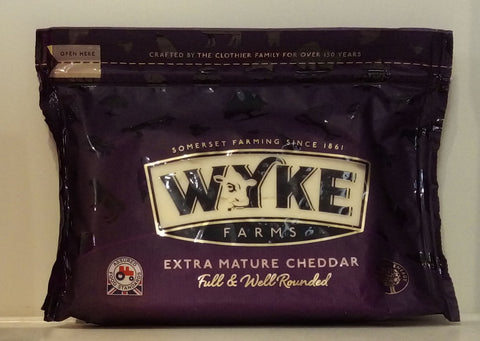 Wyke Farms Extra Mature Cheddar 320g