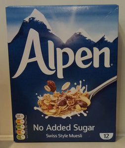 Alpen No Added Sugar 550g