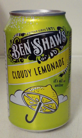 Ben Shaws Cloudy Lemonade 330ml