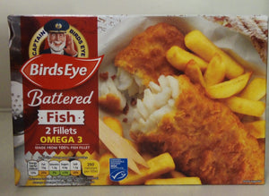 Birds Eye Battered Fish 2 Fillets 200g