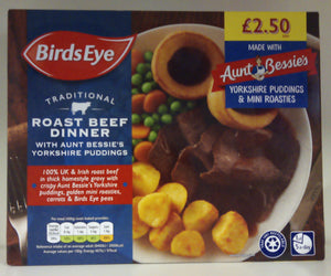 Birds Eye Traditional Roast Beef Dinner