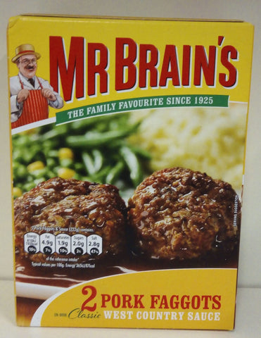 Mr Brain's 2 Pork Faggots