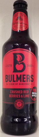 Bulmers Crushed Red Berries & Lime 500ml
