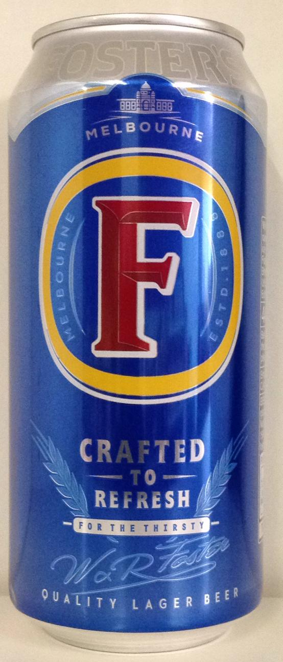 Foster's Lager Beer 440ml