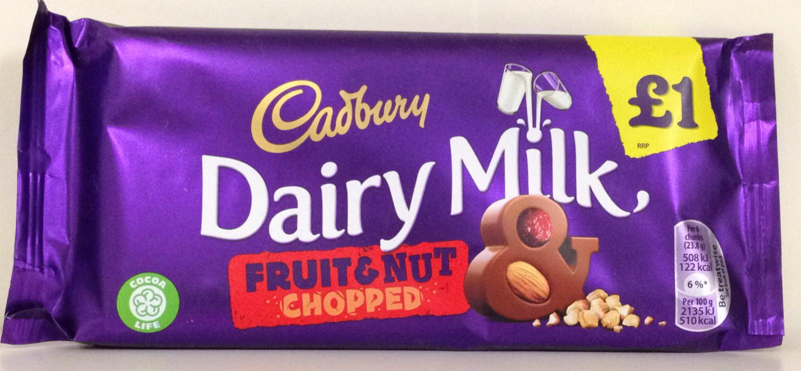 Cadbury Fruit & nut 95g