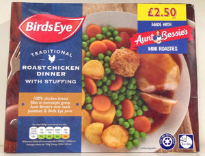 Birds Eye Roast Chicken Dinner 400g