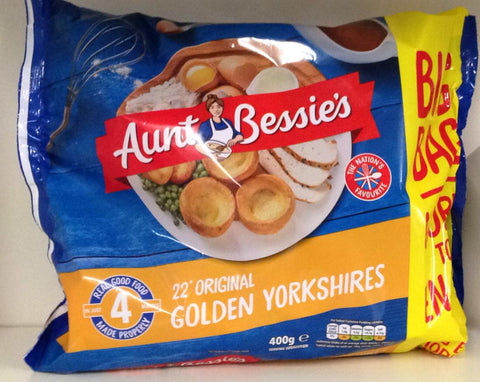 Aunt Bessie's 22 Original Golden Yorkshires 400g