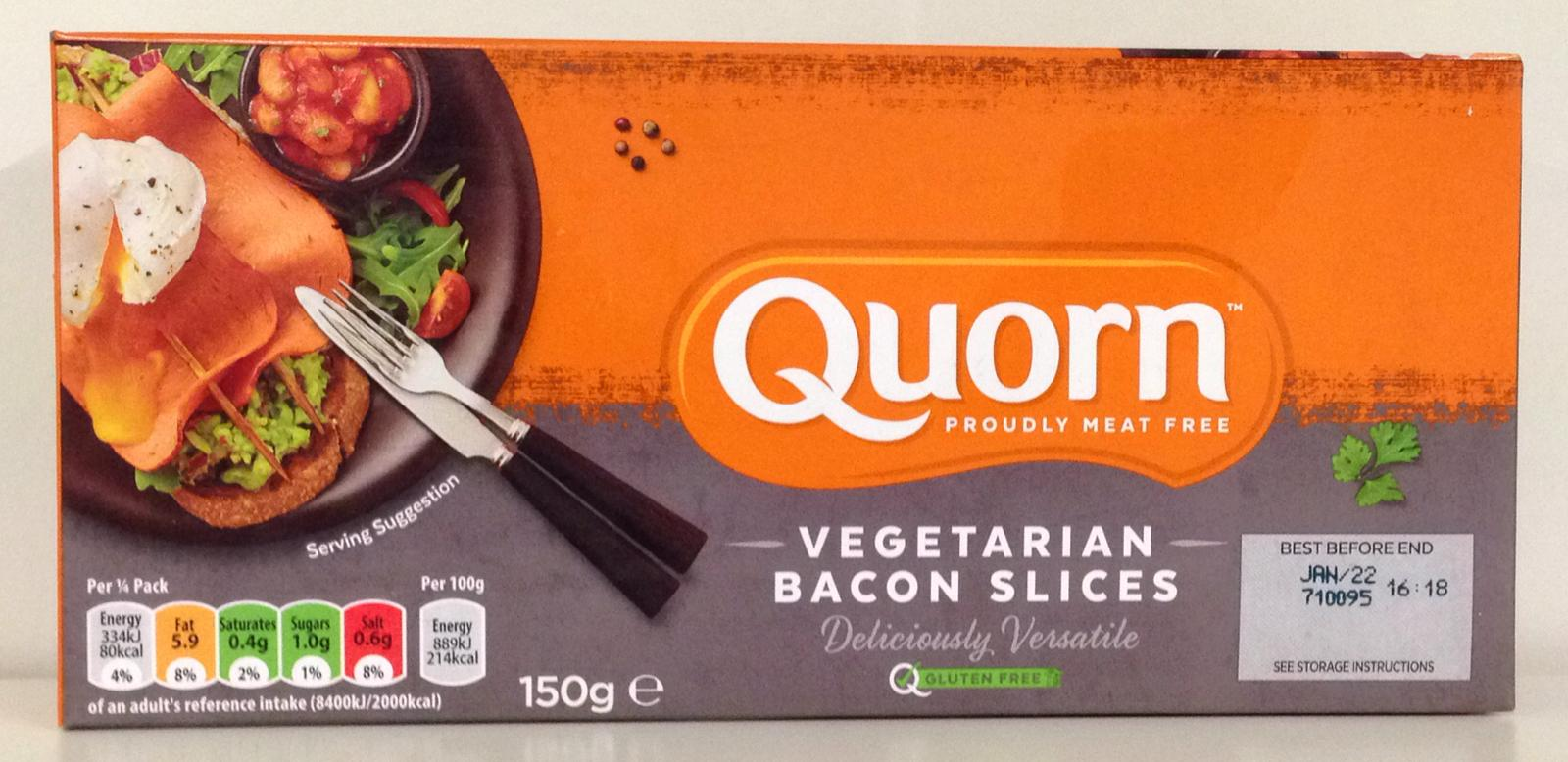 Quorn Vegetarian Bacon Slices 150g