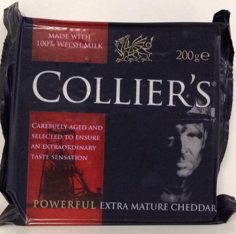 Collier's Powerful Extra Mature Cheddar 200g