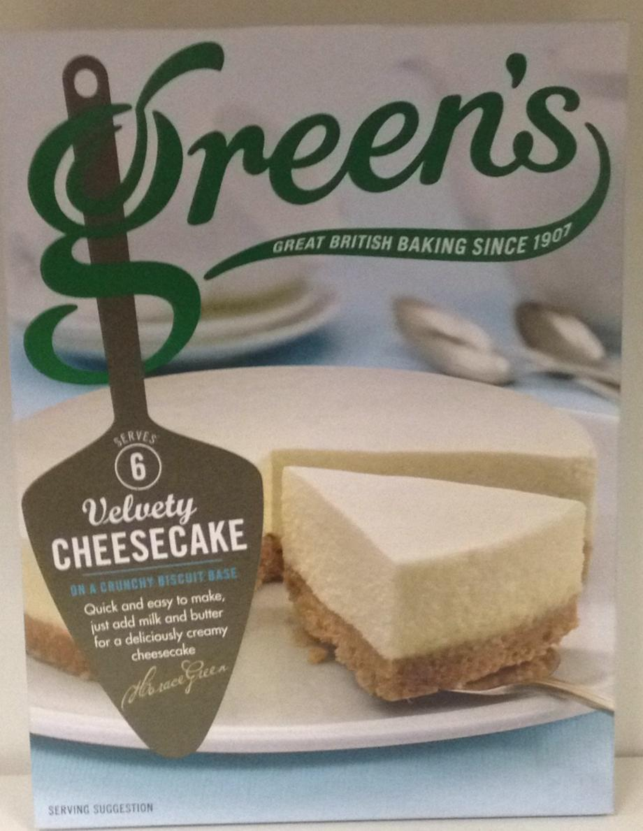 Green's Velvety Cheesecake 259g
