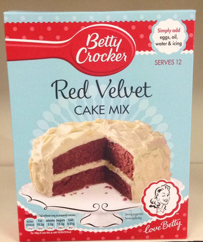 Betty Crocker Red Velvet Cake Mix 425g