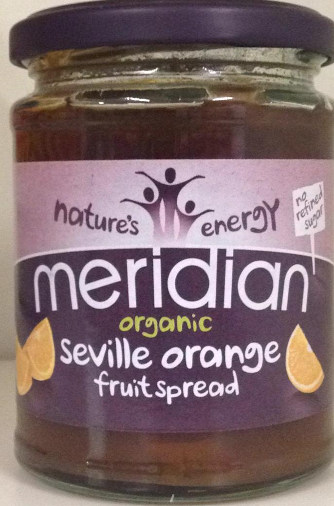 Meridian Organic Seville Orange Fruitspread 284g