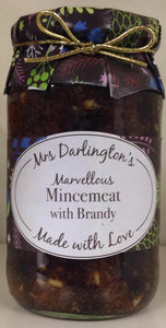 Mrs Darlington's Marvellous Mincemeat With Brandy 410g