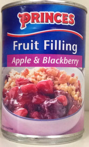 Princes Fruit Filling Apple & Blackberry 395g