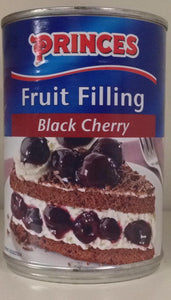 Princes Fruit Filling Black Cherry 410g