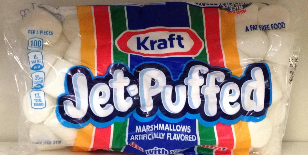 Kraft Jet-Puffed Marshmallows 453g