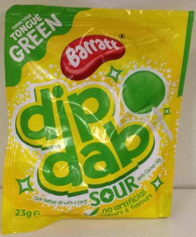 Barratt Dip Dab Apple 23g