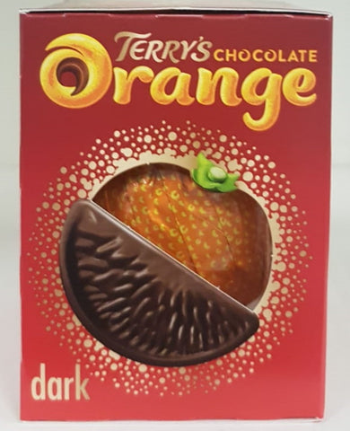 Terrys Dark Chocolate Orange 157g