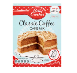 Betty Crocker Rich Coffee cake mix 425g