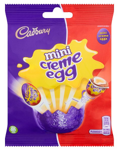 Cadbury Creme Egg Minis Bag 89g