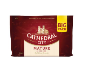Cathedral City Extra Mature 550g