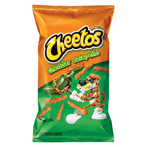 Cheetos Hot Jalapeno Cheddar 226.8g