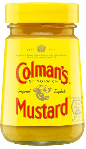 Colmans English Mustard glass 100g