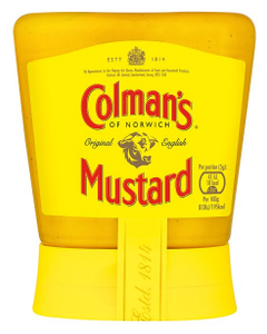 Colmans Squeezy English Mustard 150g