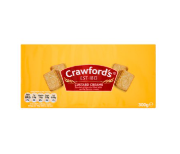 Crawfords Custard Creams 300g