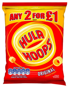 Kp Hula Hoops Original 34g
