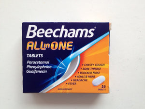Beechams All in one 16 tablets