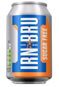 Irn Bru Sugar Free can 330ml