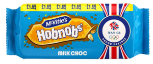 Mcvities Milk Chocolate Hobnobs 267g
