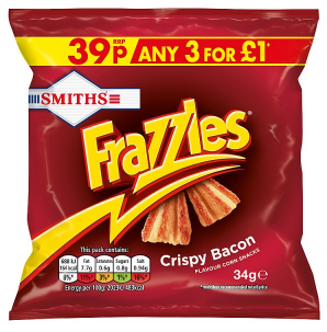 Smiths Frazzles Crispy Bacon 34g