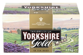 Taylors of Harrogate Yorkshire Gold 40 Teabags
