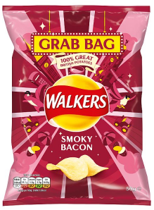 Walkers Smoky Bacon 50g