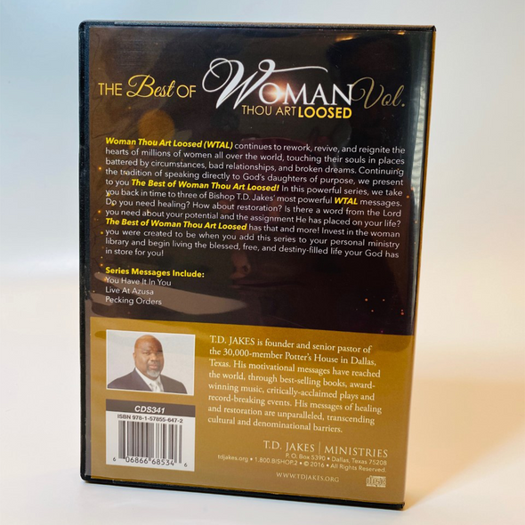 T.D. Jakes - Best of WTAL Vol. 1 CDs 3