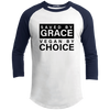 T.D. Jakes - Saved By Grace Vegan By Choice - Raglan