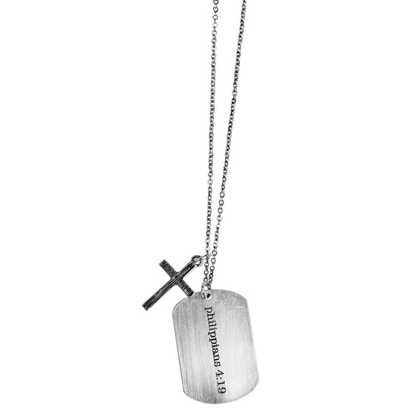 Faith Gear® Blessed Womens Dogtag Necklace