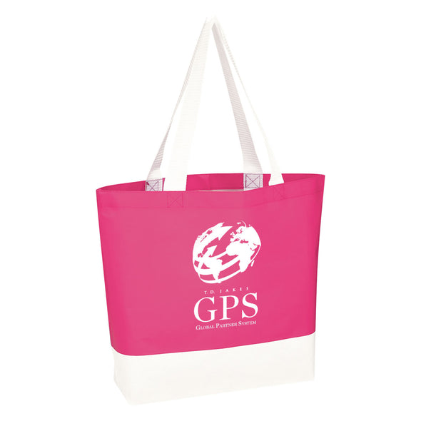 T.D. Jakes - Tote Bag - GPS - Pink and White