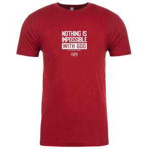 T.D. Jakes - GPS Nothing Is Impossible Adult T-Shirt